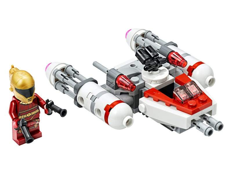 "Resistance Y-wing"" Microfighter"