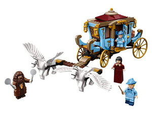 Beauxbatons' Carriage: Arrival at Hogwarts""