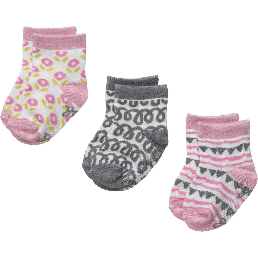 3-Pack Organic Cotton Socks