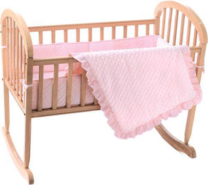3 Piece Heavenly Soft Cradle Set