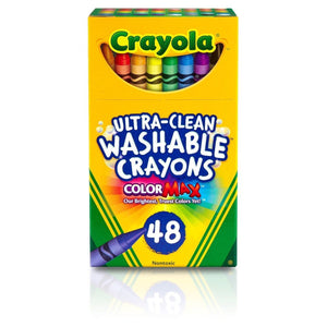 48 Ct Ultra-Clean Washable Crayons