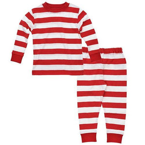 Baby Long Johns  - Rugby Red