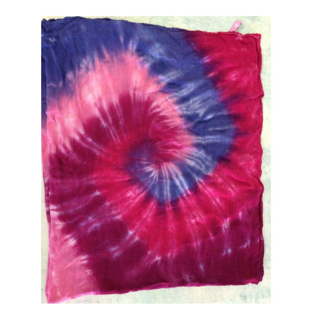 Pink and Purple Tie Dye