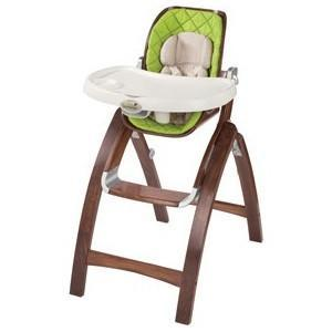 Bentwood Highchair, Green