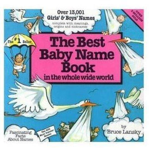 Best Baby Names Book