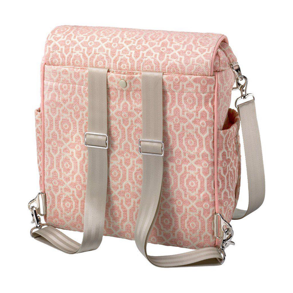 Chenille Boxy Backpack