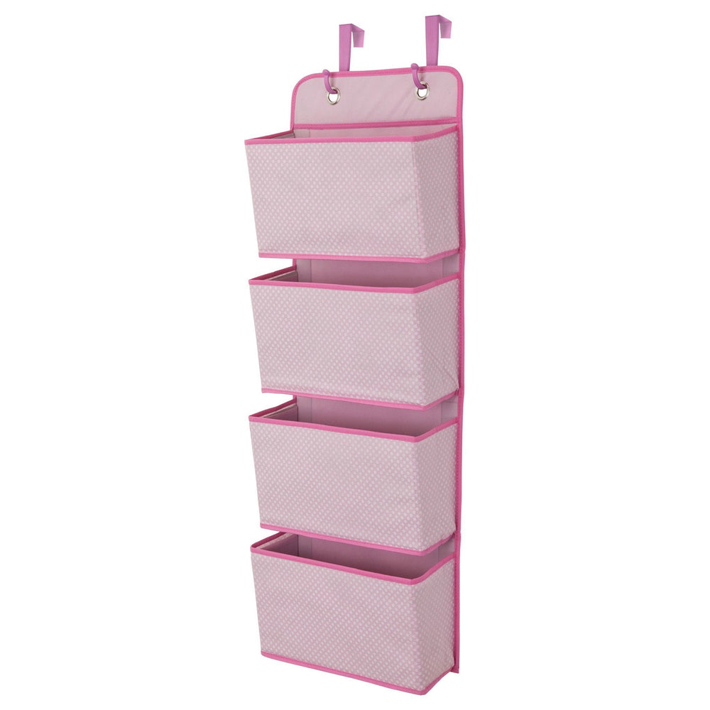 Children 4-Pocket Organizer, Barley Pink