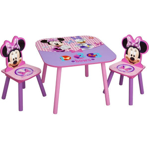 Children Minnie Mouse Table & Chair Set