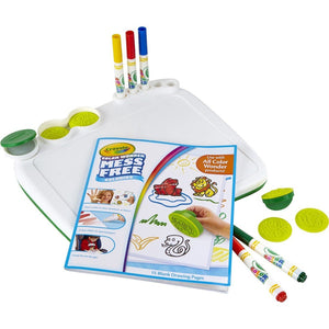 Color Wonder Art Desk with Stampers