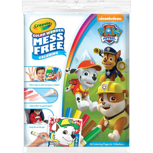Color Wonder Paw Patrol Coloring Pad and Markers