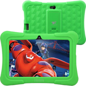 "Dragon Touch Y88X Plus Kids 7"" Tablet Disney Edition, Kidoz Pre-Installed, Android 5.1 Green"