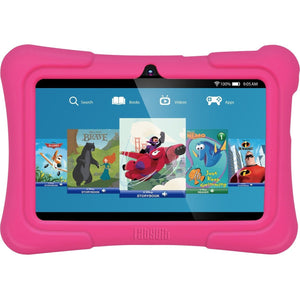 "Dragon Touch Y88X Plus Kids 7"" Tablet Disney Edition, Kidoz Pre-Installed, Android 5.1, Pink"