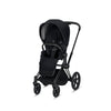 e-PRIAM Power Assisted Standard Stroller - Black Matte Frame