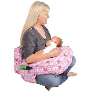 Ease Back Nursing Pillow - Pink