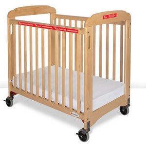 First Responder Evacuation Fixed-Side Crib