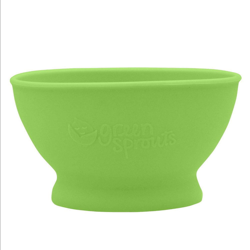 Silicone Learning Bowl - Green