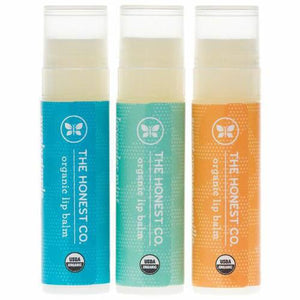 Honest Organic Lip Balm Trio