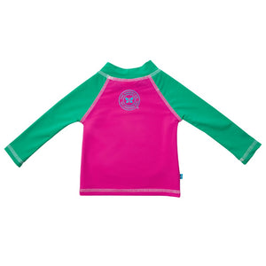 Honest UPF 50 Swim Shirt - Hot Pink