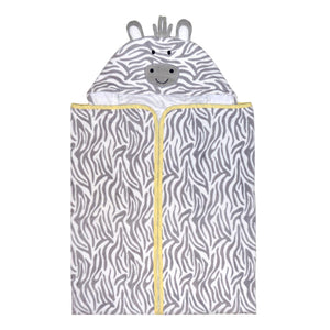Hooded Bath Wrap - Welcome to the Circus