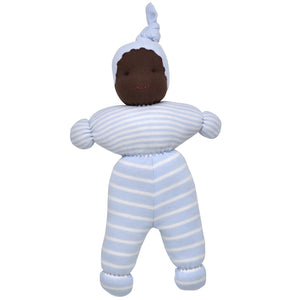 Jayden Baby Doll - Pale Blue Stripe