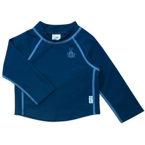 Long Sleeve Rashguard Shirt-Navy