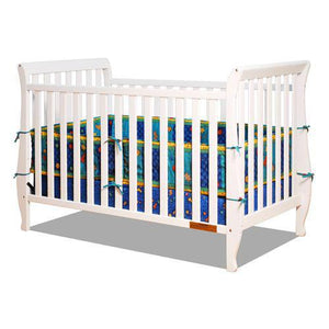 Naomi Convertible Crib w/ Toddler Rail