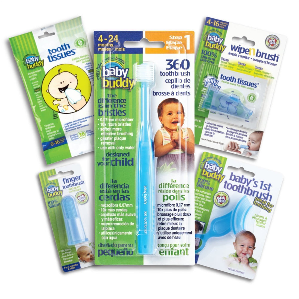 Oral Care Kit Stages 1-5 - Blue