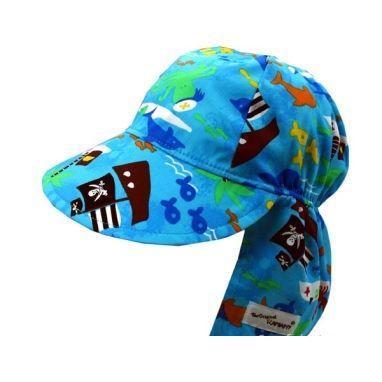 Original Flap Hat Poplin, Assorted Prints