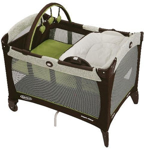 Pack 'N Play Playard with Reversible Napper & Changer Go Green