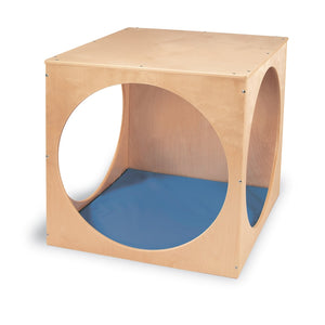 Cube Playhouse with Floor Mat