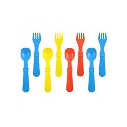 Re-Play 4 Spoons and 4 Forks