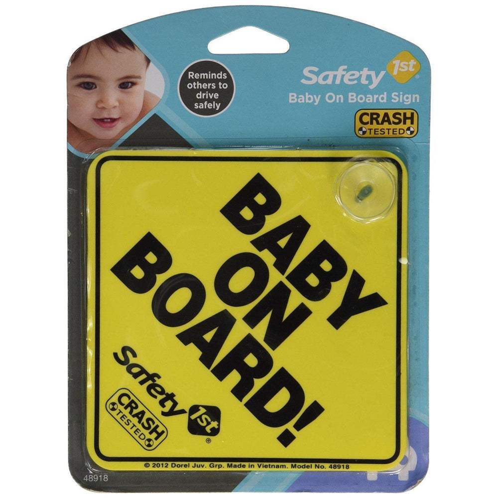 Reflective Baby on Board Sign - 2pk