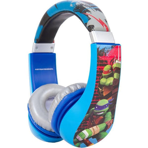Sakar Teenage Mutant Ninja Turtles Kids Friendly Headphone