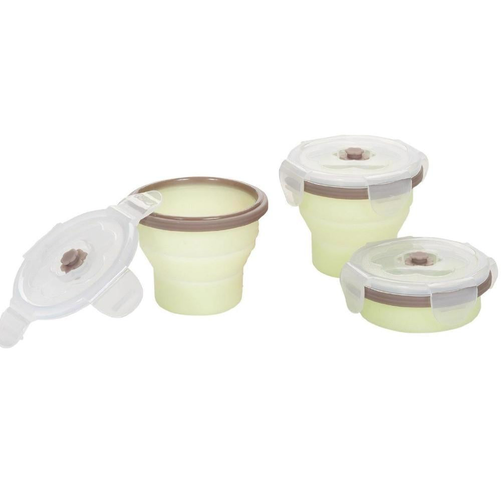 Silicone Container Set of 3