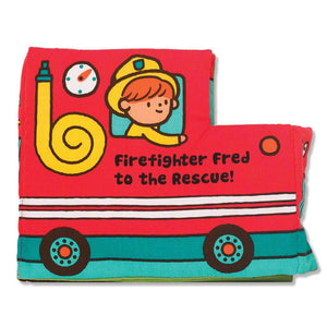 Soft Activity Book Firefighter Fred to the Rescue