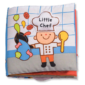 Soft Activity Book Little Chef