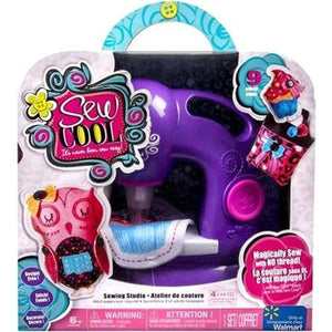 Spin Master Sew Cool Sewing Machine Bonus in Purple