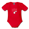 Little Boo (dark) Organic Short Sleeve Baby Bodysuit