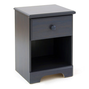 Summer Breeze 1-Drawer Nightstand, Blueberry