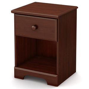 Summer Breeze 1-Drawer Nightstand, Royal Cherry