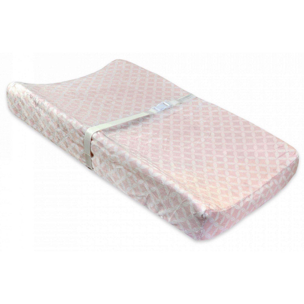 Valboa Changing Pad Cover - Hampton Pink