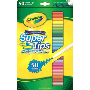 Washable Super Tips Fine Line Markers