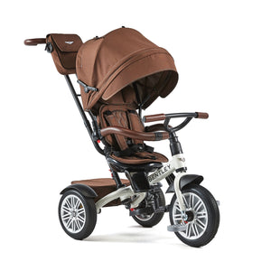 White Satin Bentley 6-in-1 Stroller Trike