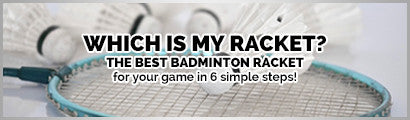 Selecting the right badminton racket - Finding a needle in a haystack
