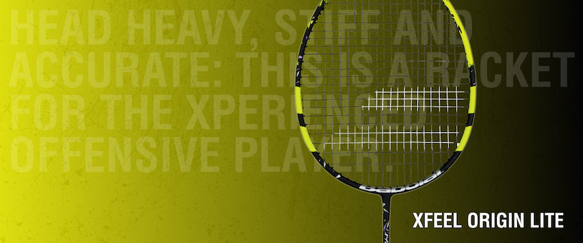 Babolat XFeel Badminton Racket on sale at Badminton Warehouse
