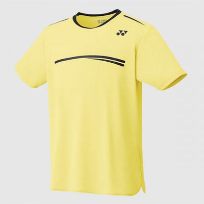 10277 Light Yellow Badminton Shirt on sale at Badminton Warehouse