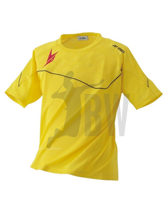 2015 Lin Dan Ltd Edition - Yonex Game Shirt 16000LDEX Yellow - Badminton Warehouse