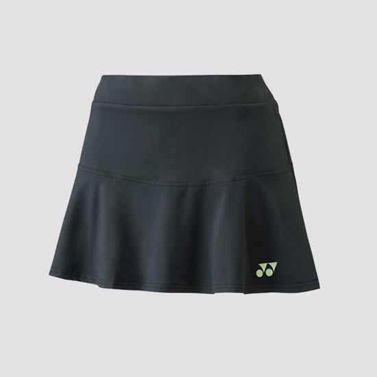 Yonex 26041 Women's Skort in Charcoal at Badminton Warehouse