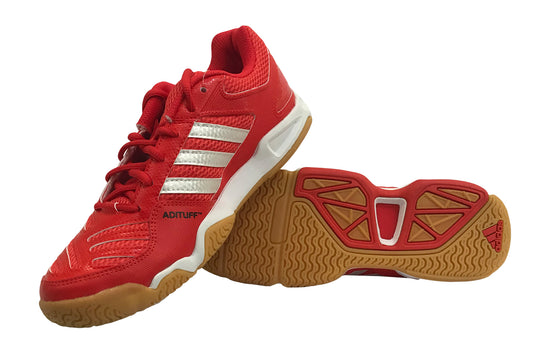 Adidas BT Feather Team Shoes (Red) - Badminton Warehouse
