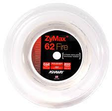 Ashaway ZyMax 62 Fire (0.62mm) Badminton String Reel - Badminton Warehouse